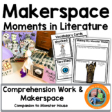 Halloween STEM/ Makerspace Activities in Literature:{House That Monster Built}