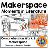 Halloween Makerspace Activities in Literature:{Somethin' Pumpkin}