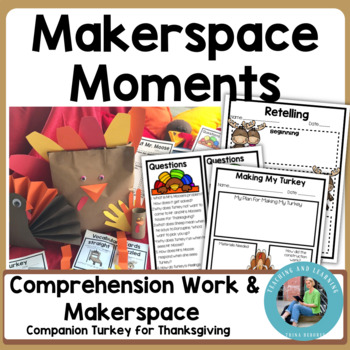 Thanksgiving Makerspace Activities in Literature:{Turkey for Thanksgiving}
