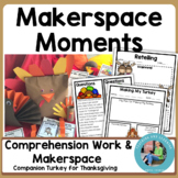 Thanksgiving Makerspace Activities in Literature:{Turkey f