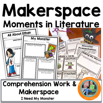Makerspace Moments in Literature: Halloween {I Need My Monster}