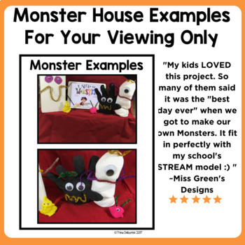 Halloween Makerspace Activities in Literature:{I Need My Monster}