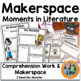 Halloween Makerspace Activities in Literature:{I Need My Monster}