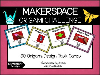 Makerspace: Origami Challenge Task Cards