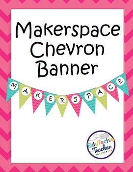 Makerspace Pennant Banner
