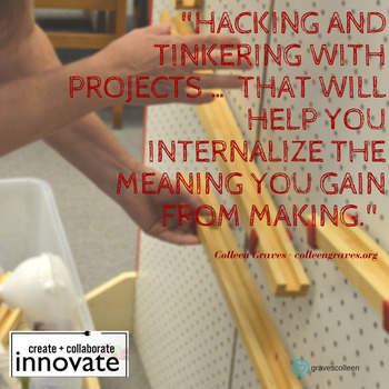 Makerspace Poster - Hacking and Tinkering
