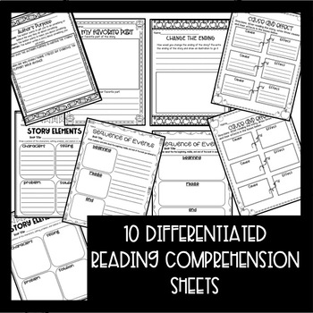 Makerspace STEM Reading Comprehension Creation Station {Back to School Books}