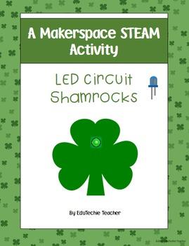 Makerspace STEAM Activity: LED Circuit Shamrocks