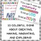Makerspace, STEM, & STEAM Quote Signs {For Your Creative Students!}