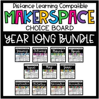 Makerspace STEM Choice Board Growing Bundle