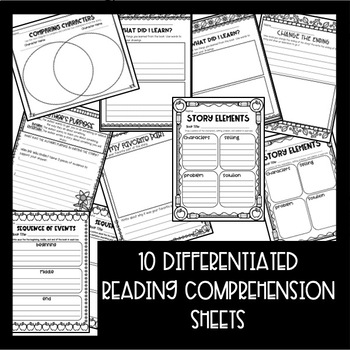 Makerspace STEM Reading Comprehension Creation Station {September Books}