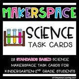 Science STEM Makerspace Challenge Task Cards Kindergarten-2nd Grade