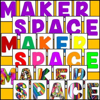 Makerspace Signs, Labels and Posters for your Classroom (STEM/ STEAM)