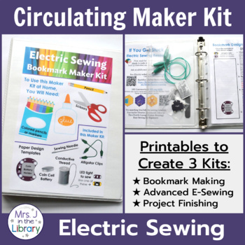 Makerspace Starter: Electric Sewing Circulating Kit Materials