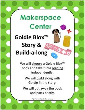 Makerspace Starter: Goldie Blox (TM) Building Center