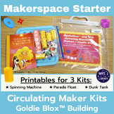 Makerspace Starter: GoldieBlox™ Circulating Kit Materials