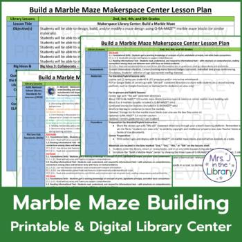 Makerspace Starter: Marble Maze Building Center