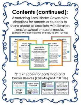 Makerspace Starter: Paper Circuits Circulating Kits & Interactive Nursery Rhymes