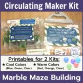 Makerspace Starter: Q-BA-MAZE (TM) Marble Run or Maze Circulating Kit Materials