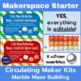 Makerspace Starter: Marble Maze Circulating Maker Kit Materials