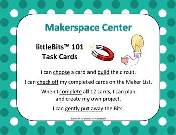 Makerspace Starter: littleBits (TM) Building Centers