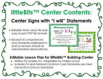 Makerspace Starter: littleBits™ Building Centers