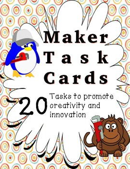 Makerspace Task Cards