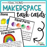 Makerspace Task Cards Fractions