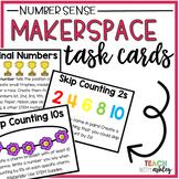 Makerspace Task Cards Number Sense