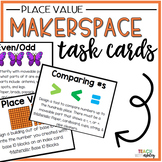 Makerspace Task Cards Place Value