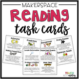 Makerspace Reading Task Cards