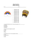 Makes a Rainbow - Magic School Bus Quiz - Distance Learning