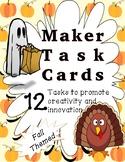 Makespace Task Cards - Bundle of 42 Holiday Tasks!