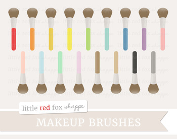 Makeup Brush Clipart; Beauty, Cosmetics