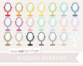 Makeup Mirror Clipart; Beauty