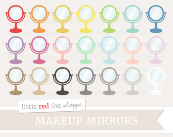 Makeup Mirror Clipart; Beauty, Cosmetics
