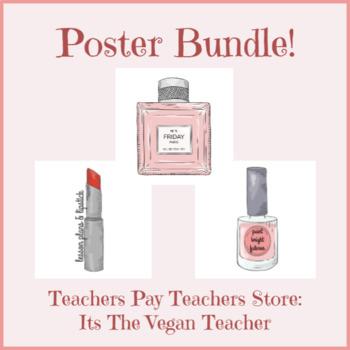 Makeup Poster Bundle