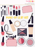 Makeup beauty symbols clipart, cosmetics clipart (LC04)