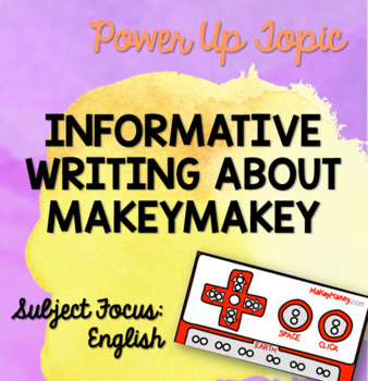 MakeyMakey Information Text