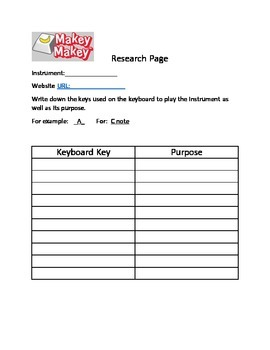 MakeyMakey Student Engineering Booklet