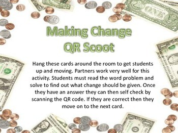 Makin Change QR Scoot