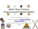 Makin' More S'mores-Final Consonant Deletion Edition