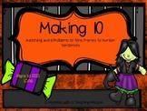 Making 10 1.OA.6 Halloween Matching Game