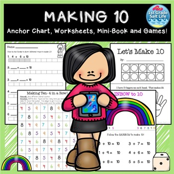 Making 10 Practice  Addition Facts to 10