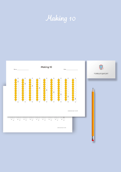 Montessori Math - Making 10