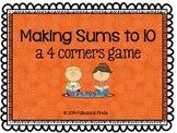 Making 10- 4 Corners Game