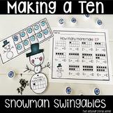 Snowman Math Swingables