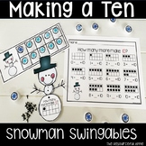 Snowman Math Swingables