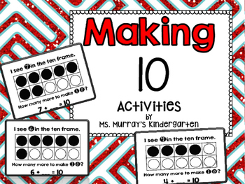 Making 10 Addition Math Centers