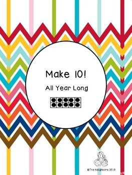 Making 10 All Year Long (A game of ways to make ten.)